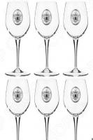 Набор бокалов для вина Acampora «Россия» 307-164