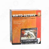 Мультимедийная система с функцией навигации Mystery MMTD-9270NV. Программное обеспечение: Навител. Уцененный товар