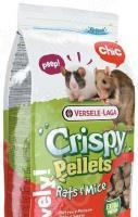 Корм для крыс и мышей Versele-Laga Crispy Pellets Rats & Mice гранулированный