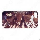Чехол для iPhone 5 Mitya Veselkov «Beatles»