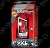 Салфетки влажные Opti Clean для плазменных и ЖК-телевизоров