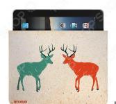 Чехол для iPad Mitya Veselkov «Два оленя»