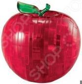 Кристальный пазл 3D Crystal Puzzle «Яблоко красное»