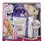 Мягкая игрушка Simba CHI CHI LOVE «Собачка в платье с сумочкой»