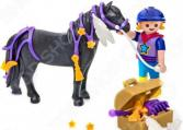 Игровой набор Playmobil «Ферма Пони: Конюх с Пони Звездочка»