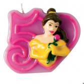 Свечка объемная Procos «Принцессы» 5 лет