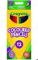 Набор цветных карандашей Crayola Coloured Pencils