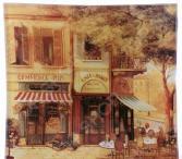 Тарелка десертная Gift'n'home «Парижское кафе»