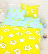 Детский комплект постельного белья Сирень «Завтрак»