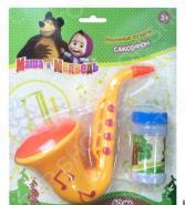 Игрушка для пускания мыльных пузырей 1 Toy «Маша и Медведь»