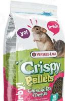Корм для шиншилл и дегу Versele-Laga Crispy Pellets Chinchillas & Degus гранулированный