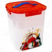 Контейнер для хранения мелочей с вкладышем IDEA «Деко. Рукоделие»
