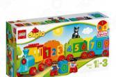 Конструктор для малышей LEGO Duplo «Поезд: Считай и играй»