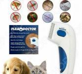 Щетка для вычесывания блох Flea Doctor. В ассортименте