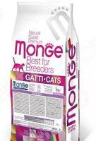 Корм сухой для стерилизованных кошек Monge Natural Superpremium Sterilized Cat