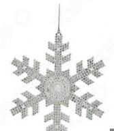 Елочное украшение Christmas House «Снежинка» 1694625