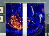 Комплект фотоштор МарТекс «Светлячки»