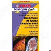 Средство лекарственное для аквариумных рыб Sera Baktopur direct