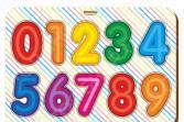 Игра развивающая WoodLand «Рамка-вкладыш: Изучаем цифры 1»