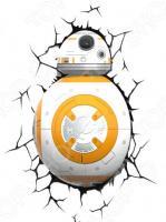 Пробивной светильник 3DlightFX Star Wars Droid BB-8