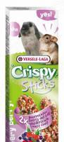 Лакомство для кроликов и шиншилл Versele-Laga Crispy «Палочки с лесными ягодами»