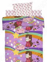Детский комплект постельного белья Непоседа Gravity Falls «Мэйбл и Пухля»