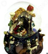 Снежный шар музыкальный Crystal Deco «Рождество»