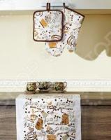 Набор кухонный: прихватка, варежка-прихватка и полотенце Primavelle «Дизайн»