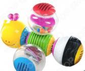 Игрушка-погремушка B kids «Веселая гусеничка»