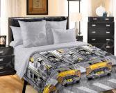 Комплект постельного белья Королевское Искушение «Такси». Семейный
