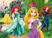 Пазл 30 элементов Trefl «Очаровательные принцессы»