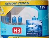 Комплект автоламп галогенных ClearLight XenonVision H3 12V-55W. В ассортименте