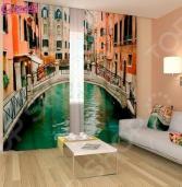 Фотошторы Сирень «Маленькая Венеция»