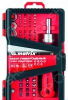 Набор бит и торцевых головок MATRIX 11785