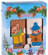 Комплект из 2-х кухонных полотенец Dinosti «Новогодние Поросята»