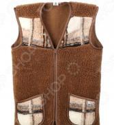 Жилет утепленный WoolHouse С.2.2.М. Цвет: коричневый