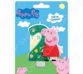 Свеча-цифра Peppa Pig №2