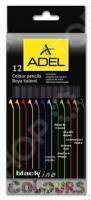 Набор карандашей цветных ADEL BlacklineNB 211 2316 000