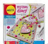 Набор для декора личного дневника Alex «Секреты на замке»