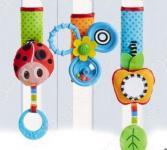 Набор подвесных игрушек на липучке Tiny love «Летняя поляна»