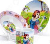 Набор посуды для детей Loraine «Белоснежка» LR-27338