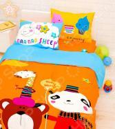 Детский комплект постельного белья Сирень «Прекрасный день»