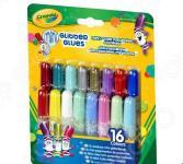 Клей с блестками Crayola «Mini glitter glues»