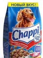 Корм сухой для собак Chappi с говядиной по-домашнему, овощами и травами