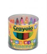 Набор восковых мелков Crayola Jumbo Grayons: 24 цвета