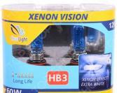 Комплект автоламп галогенных ClearLight WhiteLight HB3