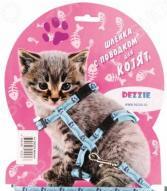 Набор для котят: шлейка и поводок DEZZIE «Китти»