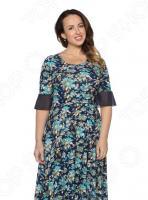 Платье Матекс «Женская радость». Цвет: синий