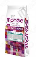 Корм сухой для кошек Monge Natural Superpremium Hairball