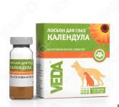 Лосьон от слезоточивости у кошек и собак Veda «Календула»